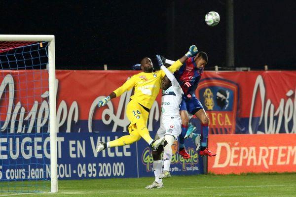 Football Ligue 2, 15e journée GFCA - Le Havre (1-1)