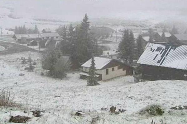 24 mai 2013 : de la neige dans le Vercors ... à 1500 m d'altitude