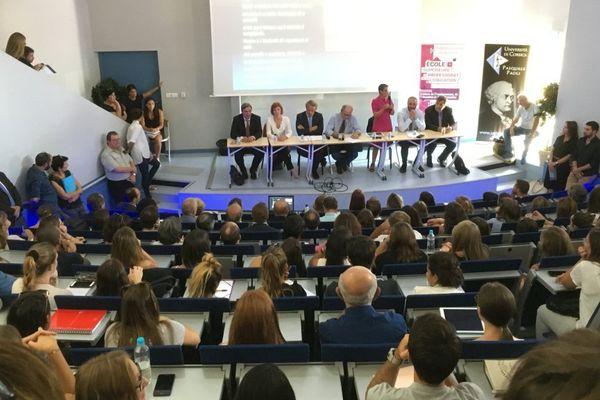 Au moins 4600 étudiants sont inscrits pour cette année 2017-2018 à l'Université de Corse.