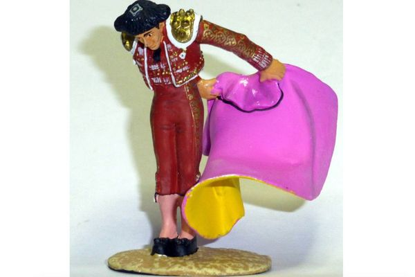 La gaonera interprétée par un torerito de plomb.