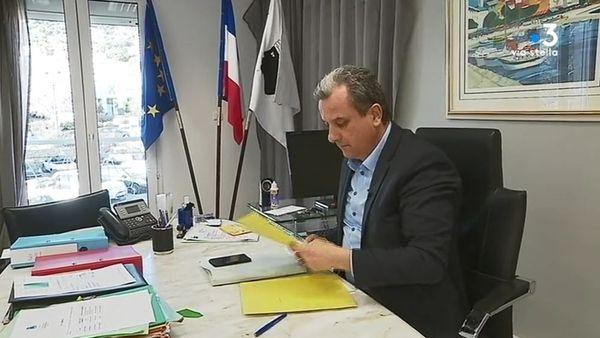 François Tatti dans son bureau.