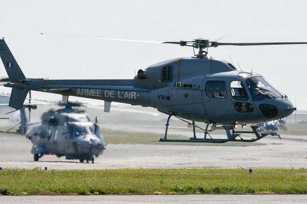 Le survol d'un hélicoptère comme celui-ci au cours de la semaine est annoncé dans le ciel de la Côte d'azur.