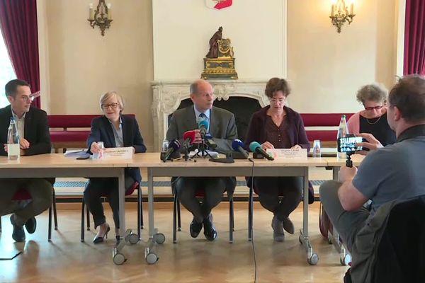 conférence de presse du préfet du Haut-Rhin