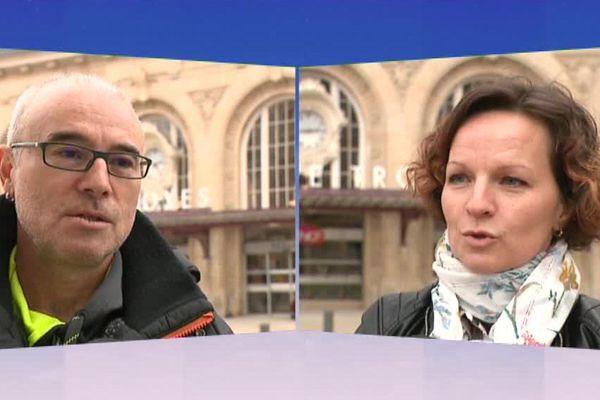 Jean-Marc est conducteur à la SNCF depuis 29 ans. Alexandra est agent à Troyes depuis 2007