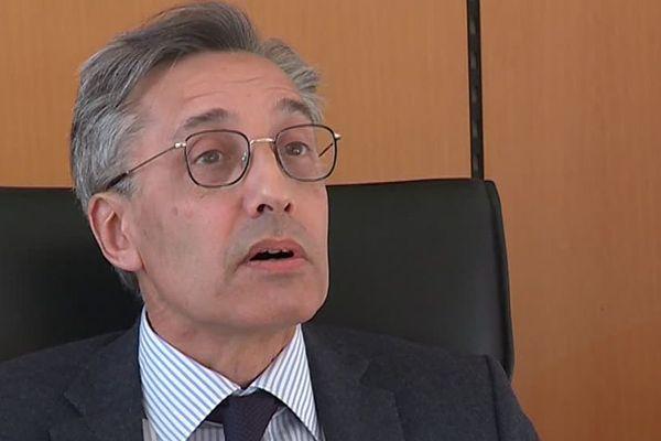 Le doyen de la faculté de droit de Montpellier Philippe Pétel - Mars 2018