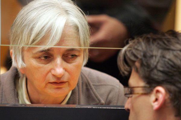Monique Olivier lors d'une audience au plais de justice de Carleville-Mezières en 2008