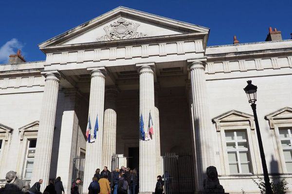 Le palais de justice d'Orléans