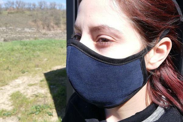 Le masque anti projections de l'atelier H