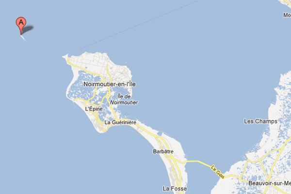 L'île du Piler au large de l'île de Noirmoutier