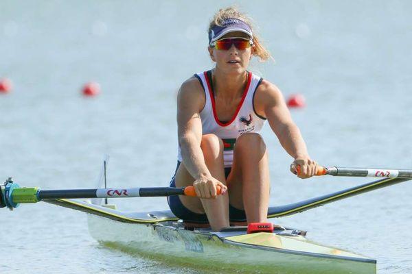 Laura Tarantola avait décroché le premier titre mondial de sa carrière à l'occasion des mondiaux d'aviron de Plovdiv en Bulgarie.