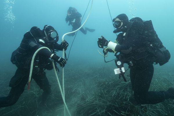 Arnaud a longtemps hésité avant de rentrer dans le groupement des plongeurs démineurs de la Manche.