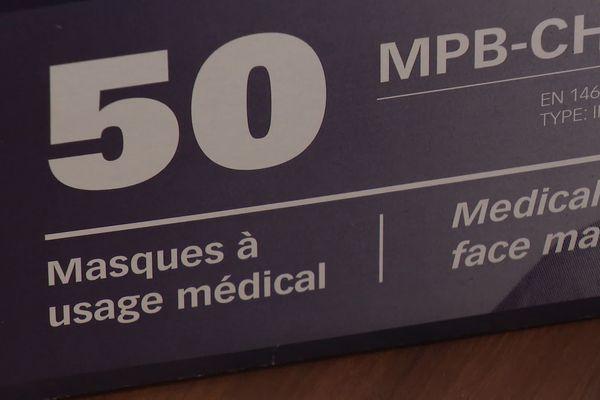 Chaque semaine, les professionnels de santé ont le droit à un nombre précis de masques FFP2 distribués par l'Etat via les pharmacies.