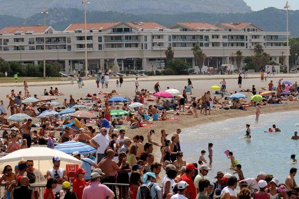 80 000 personnes pourraient se masser dans la fan-zone de plage du Prado lors des matchs de l'Euro 2016 à Marseille.