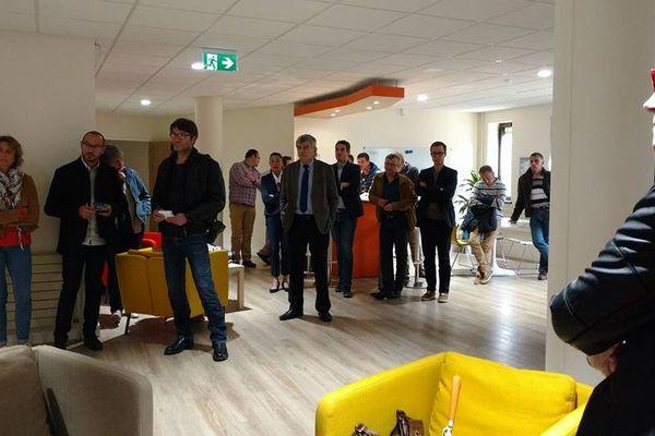 L'inauguration du FarmLab du campus du Champs des possibles a eu lieu ce jeudi 26 avril, à Châteaudun.