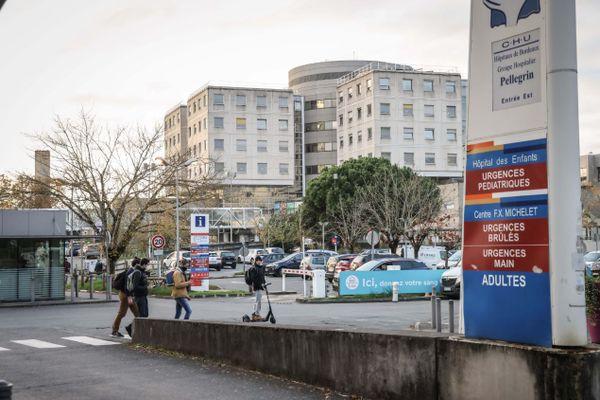 A Bordeaux, l'hôpital Pellegrin autorise une visite par jour