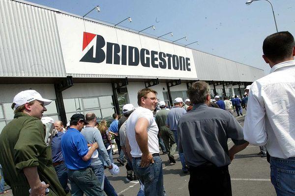 Mai 2006 sur le site Bridgestone de Béthune