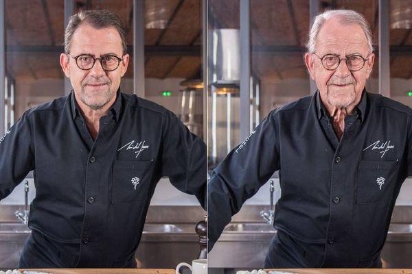 Le chef cuisinier toulousain, Michel Sarran