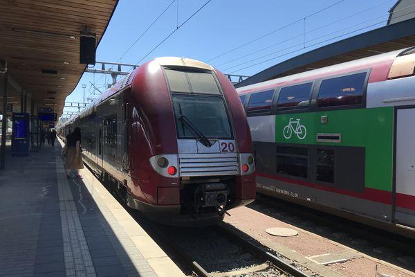 Voyage à bord du TER Nancy-Metz-Luxembourg, une les lignes les plus fréquentées de France.