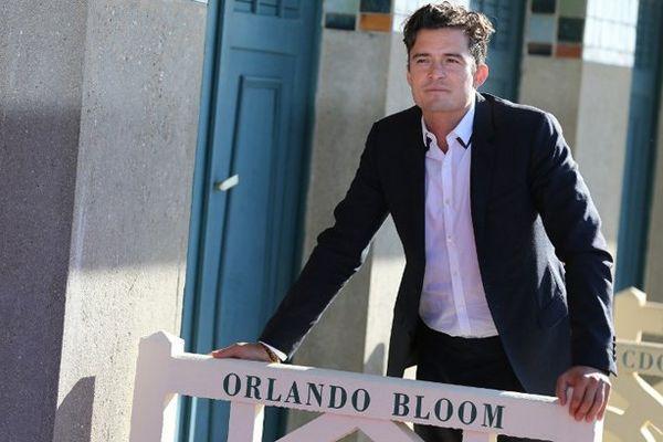 Orlando Bloom sur les planches de Deauville, le 6 septembre