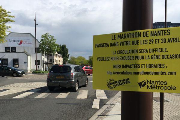 Un plan de déviation mis en place pour le marathon de Nantes 2017