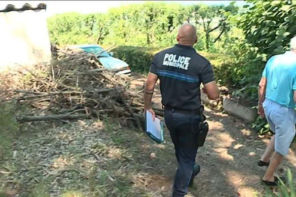 La police municipale vérifie à Biot le respect de l'obligation de débroussaillement. Les contrevenants s'exposent à une amende.