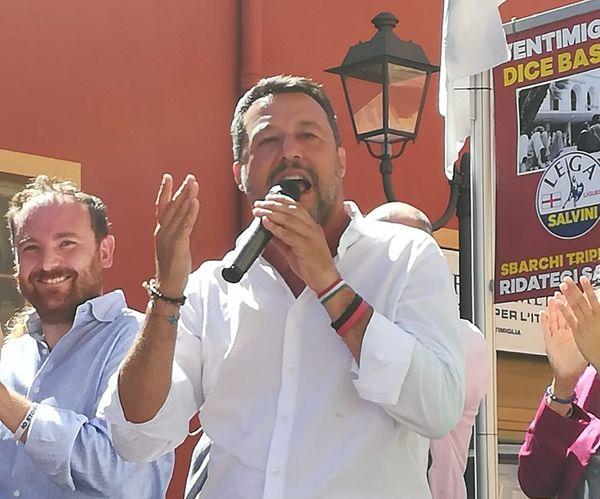 Matteo Salvini ce mardi à Vintimille