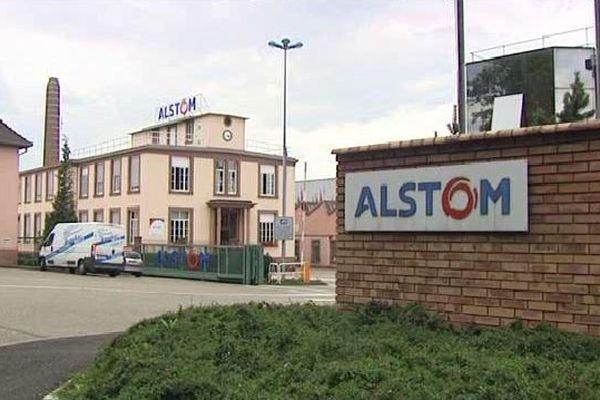 Le site d'Alstom à Reichshoffen