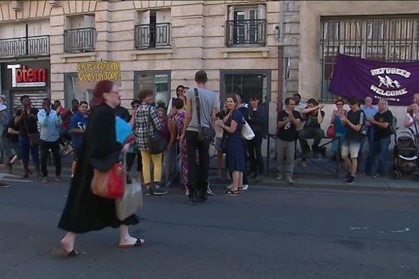 Lundi 2 juillet 2018-Rassemblement devant le tribunal d'Instance de Rouen