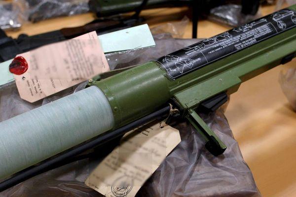 Un lance-roquettes d'origine russe saisi à Marseille en 2007