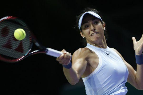 Caroline Garcia en demi-finale du Masters à Singapour