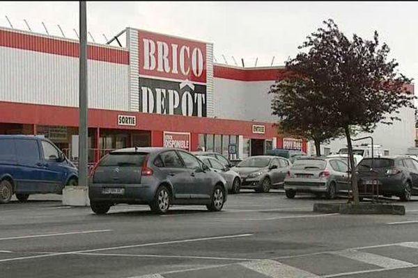 Des coups de feu ont été tirés sur le parking du magasin de bricolage à Domérat dans l'Allier