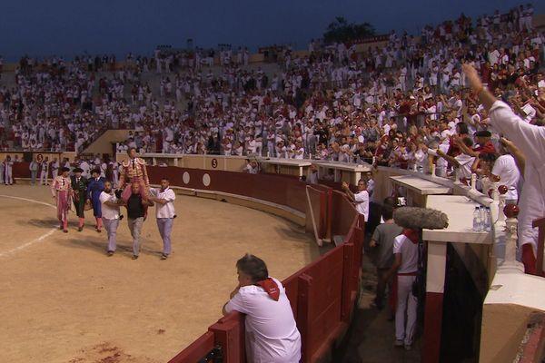 Manuel Escribano a triomphé dimanche dernier à Bayonne avec les toros de Margé. Il est dans Signes du Toro l'Actu n° 6.