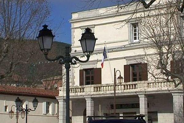 Ganges (Hérault) - la mairie - 2014.