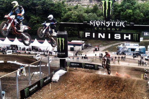 Grand prix de France de motocross à Villars-sous-Ecot, le 30 mai 2015.