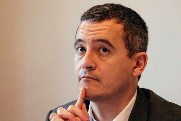 Gérald Darmanin, maire de Tourcoing et  ministre des Comptes publics (photo décembre 2019).