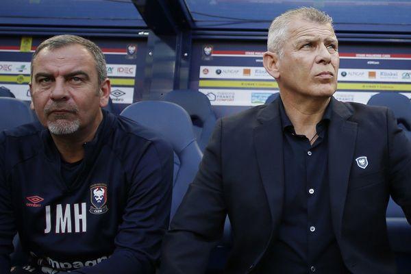 Patrice Garande devrait venir entraîner le TFC accompagné de son ancien adjoint Jean-Marie Huriez (à gauche).