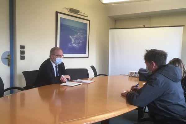 Fabrice Loher le maire de Lorient dévoile les dispositions prises par la ville pour accompagner les habitants pendant le confinement