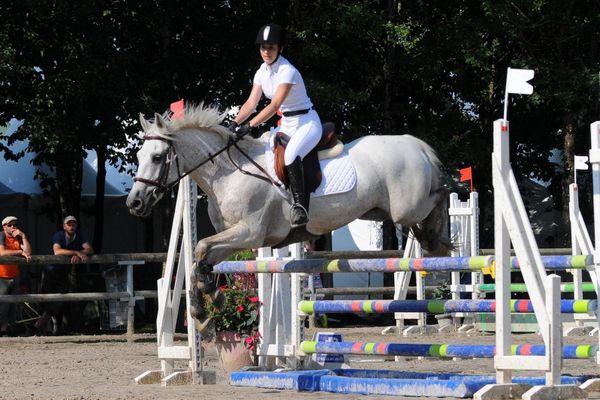 L'Open de France d'équitation à Lamotte-Beuvron, en 2014.
