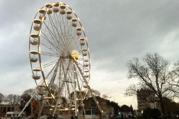 La grande roue de Reims, installée Place de la République à partir du 23 novembre.