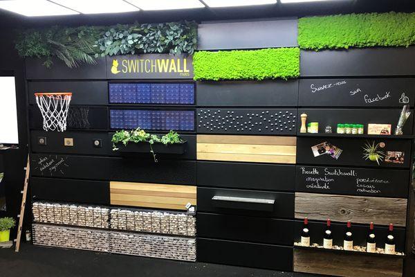 Switchwall, le système de décoration modulable, présenté au concours Lépine à Paris - Mai 2018