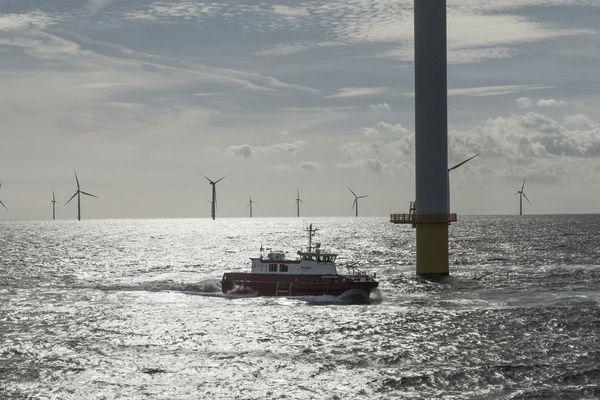 Photo d'illustration: parc éolien offshore au Danemark