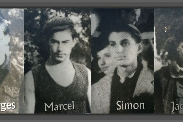 Georges Agniel (1924-2012), Marcel Ravidat (1922-1995), Simon Coencas (né en 1927) et Jacques Marsal (1926-1989) les quatre gamins qui ont découvert par hasard l'un des plus importants sites préhistorique du monde
