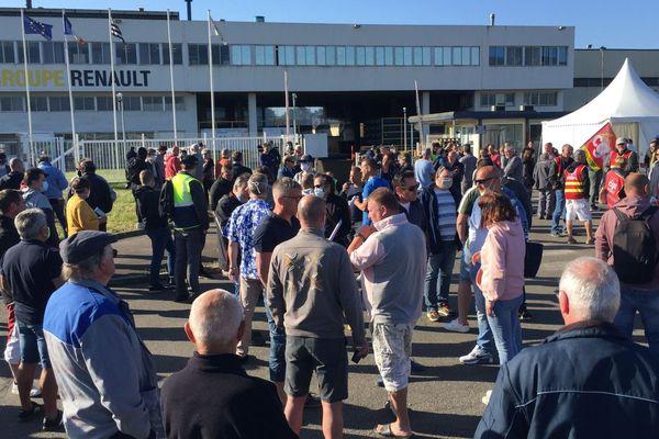Rassemblement ce lundi, 8h, devant la Fonderie de Bretagne, à Caudan (Morbihan)