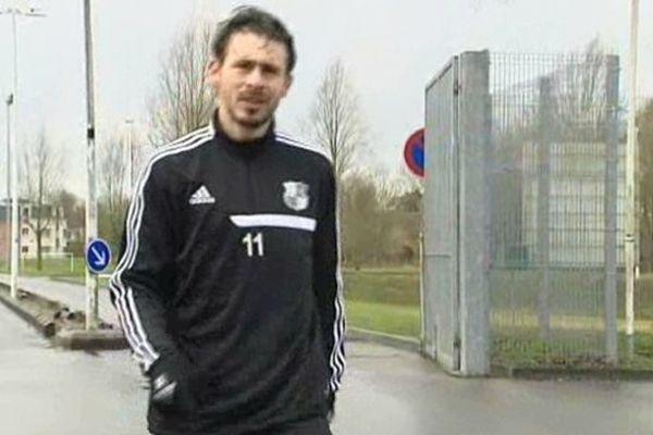 Romain Poyet, le nouvel attaquant de l'ASC