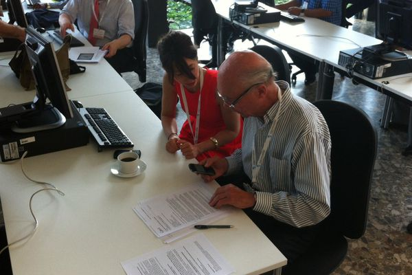 Aubert de Villaine et Krystel Lepresle sont déjà présents à Bonn pour défendre le dossier bourguignon.