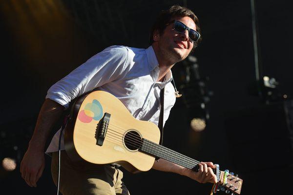 Le chanteur Vianney lors de la 20 ième édition du festival Pause Guitare à Albi dans le Tarn
