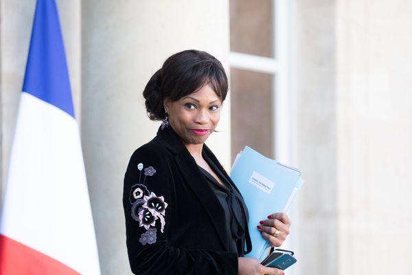 La ministre avait également condamné cet acte raciste sur Twitter