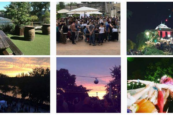 La guinguette, une tradition tourangelle. Sur Instagram, les internautes partagent leurs plus belles photos de la fameuse guinguette de Tours sur Loire.