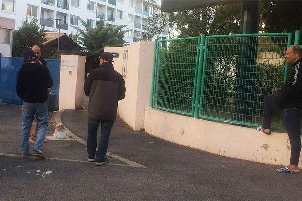 L'entrée du foyer Adoma de la rue du Père Soulas à Montpellier.