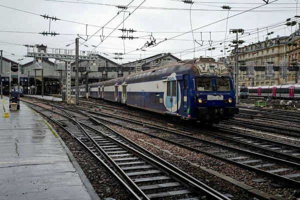 La gare Saint-Lazare, terminus de nombreux trains normands